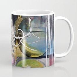 Abstract landscape color bubbles energy memories earth  Coffee Mug