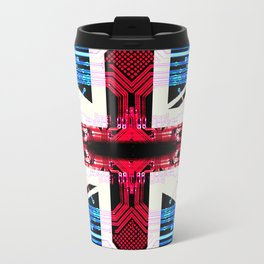 circuit board United Kingdom (flag) Travel Mug