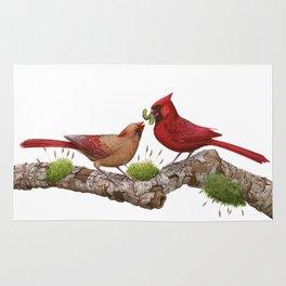 Northern  Cardinals Rug