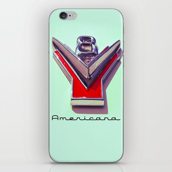V8 iPhone & iPod Skin