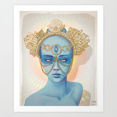 Oculi Divina Art Print