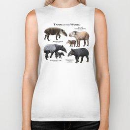 Tapirs of the World Biker Tank