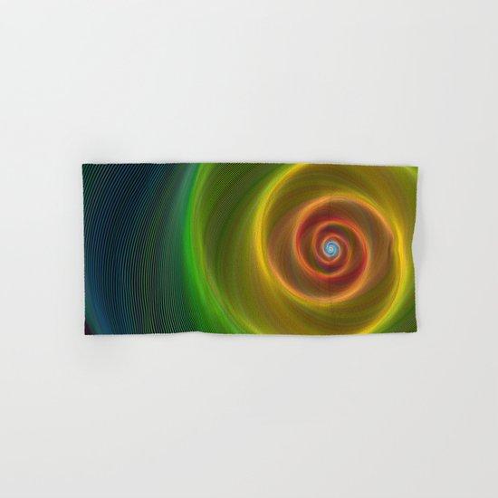 Space dream spiral Hand & Bath Towel