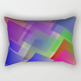 Minimalist geometry Rectangular Pillow