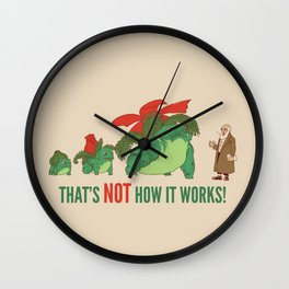 Conflicting Theories Wall Clock