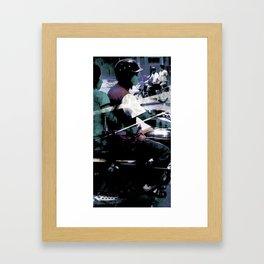 Retrollage 5.. Framed Art Print