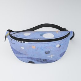 BLUE UNTITLED Fanny Pack
