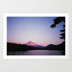 Mt Hood // Lost Lake Art Print