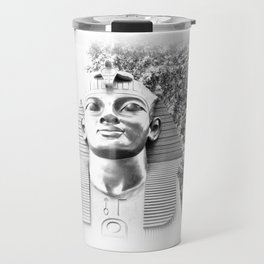 The Sphinx portrait Cleopatra's needle London UK Travel Mug