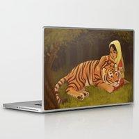 into the wild Laptop & iPad Skins featuring Wild by Alyssa Tallent