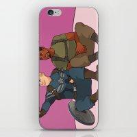 superhero iPhone & iPod Skins featuring Superhero Selfie by Kelslk