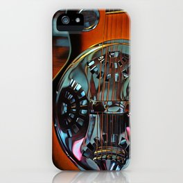 Heart Strings By Inez Benoit - Sweet Dobro iPhone Case