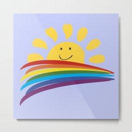 Happy sun Metal Print