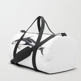 Pacific white-sided dolphin Duffle Bag