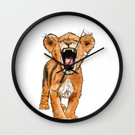 Free the Tiger in You Wall Clock