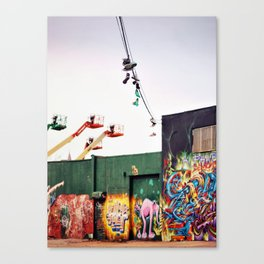 Williamsburg style Canvas Print