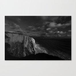 White Luminance Canvas Print