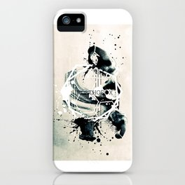A day different than usual. iPhone Case