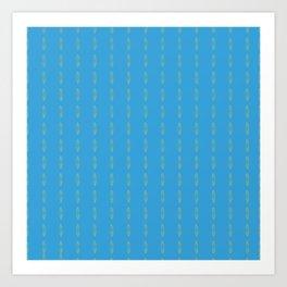 Simple Turquoise Art Print