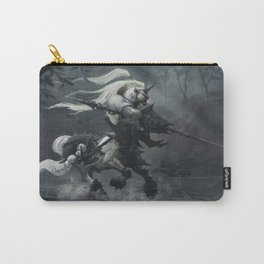 White Centaur Carry-All Pouch