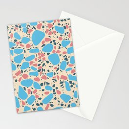 Terrazzo - Mosaic - Pastels Stationery Cards
