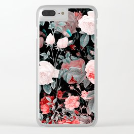 Botanic Floral Clear iPhone Case