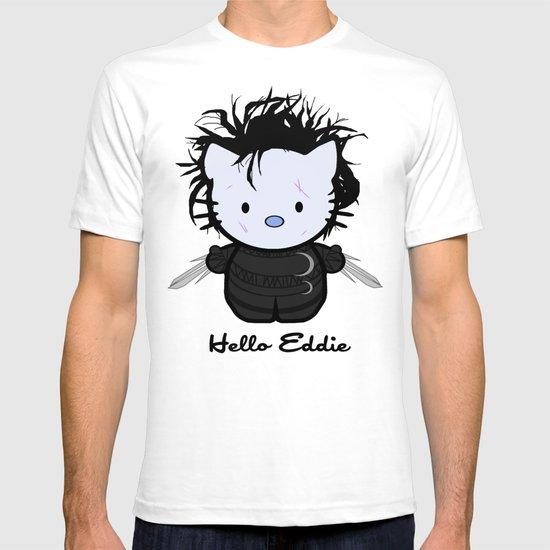Hello Eddie Scissorhands T-shirt