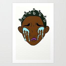 Emotional: Allira (color) Art Print
