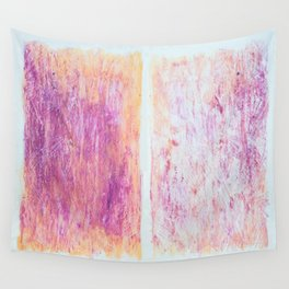 Transfer Of Pattern Wall Tapestry