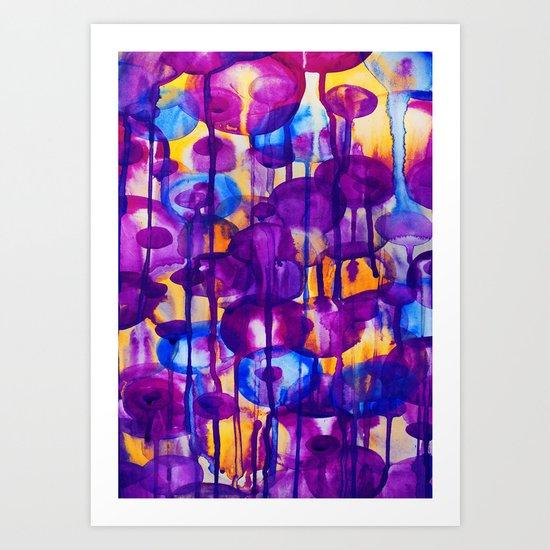 Watercolor - 4 Art Print