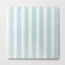 Ice bars stripes Metal Print