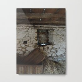 In a Crooked House Metal Print