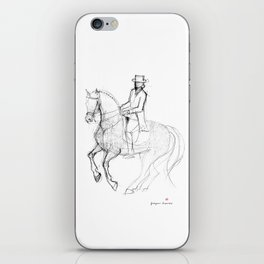Horse (Canter Pirouette) iPhone Skin
