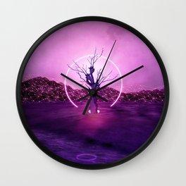 2077 landscape Wall Clock