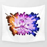 transparent Wall Tapestries featuring Sound Beats Transparent by Parrish