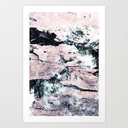 Fissure Canopy 1 Art Print