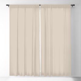 Light Taupe Solid Color Inspired by Valspar Desert Fortress 2008-10B Blackout Curtain