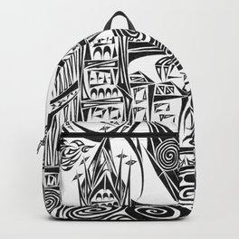 Jumbled London Backpack