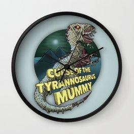 Curse of the Tyrannosaurus Mummy Wall Clock