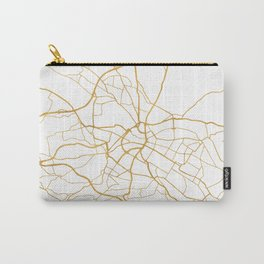 DRESDEN GERMANY CITY STREET MAP ART Carry-All Pouch