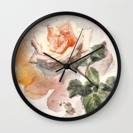Floral 10 Wall Clock