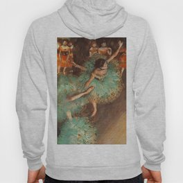 The Green Dancer 1879 By Edgar Degas | Reproduction | Famous French Painter Hoody
