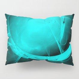 Through the glowing glass portal Pillow Sham