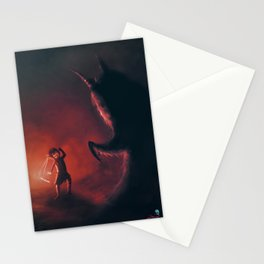 The Warrior Choko Stationery Cards