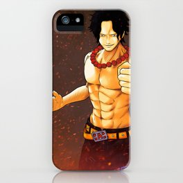 Portgas D. Ace - One Piece iPhone Case