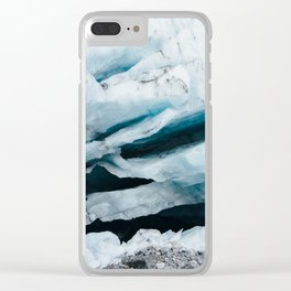 Glacier 03 - Iceland Clear iPhone Case