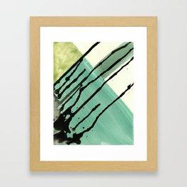 Watercolor Monoprint #5 Framed Art Print