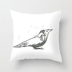 Adventures with birds 1 Throw Pillow