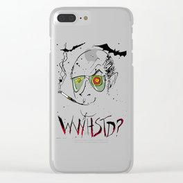 Hunter Thompson Clear iPhone Case
