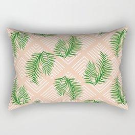 Geometries & Palms #society6 #decor #buyart Rectangular Pillow